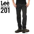 ☆まとめ割引対象☆Lee リー AMERICAN STANDRD 201 ウエスターナー サテン ストレート パンツ ブラック(175)