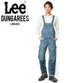 Lee リー DUNGAREES LM4454 ルーズテーパードオーバーオール 436 中色ブルー