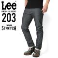Lee リー AMERICAN RIDERS 203 テーパードストレッチ パンツ インディゴブルー【LM5203-600】