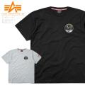ALPHA アルファ TC1418 NASA アポロ11 半袖Tシャツ ミリタリーファッション