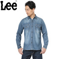 ☆今だけ20%OFF☆Lee リー LT0501-746  L/S デニム ワークシャツ WABASH STRIPE アメカジ