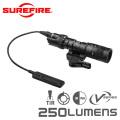 SUREFIRE シュアファイア M322V COMPACT WHITE / INFRARED LEDスカウトライト / ウェポンライト 250ルーメン(M322V-BK)【キャンペーン対象外】