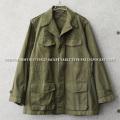 実物 USED フランス軍 M-47 フィールドジャケット 前期型 コットン製 #1【キャンペーン対象外】 ミリタリーファッション 軍服