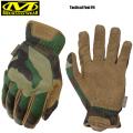 ★ただいま18%OFF割引中★【ネコポス便対応】MechanixWear メカニックスウェア Tactical FAST FIT Glove タクティカル ファーストフィット グローブ WOODLAND CAMO FFTAB-77 手袋 サバゲー サバイバルゲーム