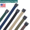 SUSPENDER FACTORY サスペンダーファクトリー MF550 キャンバスベルト オープンフェイスバックル MADE IN USA