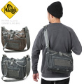 MAGFORCE マグフォース MF-0498 GEMINI SLING BAG ショルダーバッグ WAX COTTON