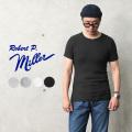【即日出荷対応】【ネコポス便対応】MILLER ミラー 101C リブ ラウンド ネック Tシャツ【キャンペーン対象外】【T】