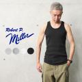 【即日出荷対応】【ネコポス便対応】MILLER ミラー 102C リブ タンクトップ【キャンペーン対象外】【T】