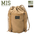 MIS エムアイエス MIS-1022 CORDURA NYLON コンプレッション スタッフサック(S)MADE IN USA - COYOTE BROWN【Sx】