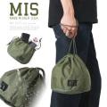 MIS エムアイエス MIS-1023 米軍実物生地使用 パーソナルエフェクツバッグ / ポーチ MADE IN USA【クーポン対象外】