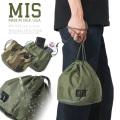 MIS エムアイエス MIS-1023 米軍実物生地使用 パーソナルエフェクツバッグ / ポーチ MADE IN USA(キャンペーン対象外)