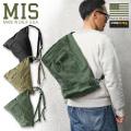 ★カートで18%OFF対象品★MIS エムアイエス MIS-1042 TA ONE SHOULDER BAG ワンショルダーバッグ MADE IN USA【Sx】 【T】