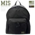 MIS エムアイエス MIS-C103 CORDURA NYLON デイパック / リュックサック MADE IN USA - BLACK(キャンペーン対象外)