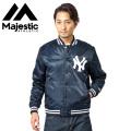 ☆まとめ割引対象☆MAJESTIC マジェスティック スタジアムジャケット ニューヨーク・ヤンキース MM23-NY-8F39