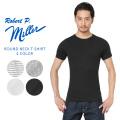 【ネコポス便対応】【即日出荷対応】MILLER ミラー 101C リブ ラウンド ネック Tシャツ【Sx】