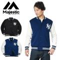 ☆まとめ割引対象☆MAJESTIC マジェスティック ニューヨーク・ヤンキース SWEAT MOCOMOCO JACKET MM22-NYK-0003
