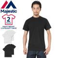 ★今だけ20%OFF★MAJESTIC マジェスティック CM07-MCS002 HEAVY WEIGHT C/N ポケット Tシャツ 2枚パック アメカジ