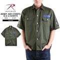 ☆複数点割引☆ROTHCO ロスコ 2875 ARMY AIR CORPS BDUシャツ