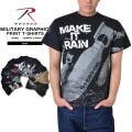 ☆15%OFFセール☆ROTHCO ロスコ MILITARY グラフィックプリントTシャツ8色