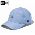 ☆まとめ割☆【即日出荷対応】NEW ERA ニューエラ 11557443 クロスストラップ リネンシャンブレー ニューヨーク・ヤンキースキャップ 帽子