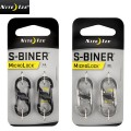 ☆20%OFFセール☆NITE IZE ナイトアイズ S-BINER STAINLESS MICROLOCK STEEL