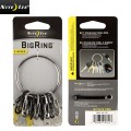 ☆20%OFFセール☆NITE IZE ナイトアイズ S-BINER BIGRING STEEL