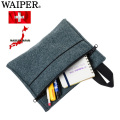 新品 スイス軍 WAIPER.incリメイク ウールポーチ