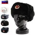 新品 ロシア軍実物製造工場製 兵用防寒帽(ウシャンカ)