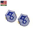 実物 新品 米空軍 インシグニア FIRST SERGEANT(先任曹長) E7