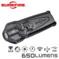 SUREFIRE シュアファイア STILETTO Multi-Output Rechargeable Pocket LEDフラッシュライト / 650ルーメン(PLR-A)【キャンペーン対象外】 懐中電灯 防災用品