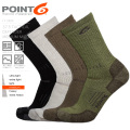 ★カートで15%OFF割引対象★POINT6 ポイントシックス 37.5 Tactical Defender Medium Mid-Calf クルーソックス MADE IN USA【Sx】 靴下【T】