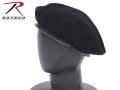 ☆まとめ割☆ROTHCO ロスコ 米軍G.I.ベレー帽 ブラック