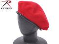 ☆まとめ割☆ROTHCO ロスコ 米軍G.I.ベレー帽 レッド