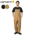 【即日出荷対応】Carhartt カーハート R01 BIB OVERALL COTTON DUCK ビブ オーバーオール コットンダック