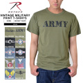 ☆15%OFFセール☆ROTHCO ロスコ VINTAGE MILITARY プリントTシャツ10色