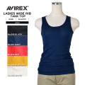 AVIREX アビレックス デイリーウェア 6223051 レディース WIDE RIB タンクトップ5色