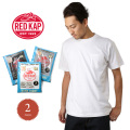 RED KAP レッドキャップ MJ-SP2PJ 2枚組 へヴィーウェイト クルーネックポケットTシャツ