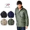 ★カートで最大18%OFF割引★ROTHCO ロスコ M-65フィールドジャケット SOLID