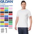 GILDAN ギルダン 76000 Premium Cotton 5.3oz S/S アダルトTシャツ Japan Fit #1(010〜105)【Sx】