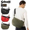 Schott ショット 3169006 NYLON PADDED BANANA BAG