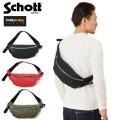 Schott ショット 3169007 NYLON PADDED BODY BAG