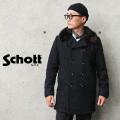 【即日出荷対応】Schott ショット 7586 792US DOUBLE BREST BOA COLLAR COAT(ダブルブレスト ボアカラー コート)MADE IN USA【キャンペーン対象外】
