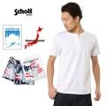 Schott ショット 3163034 ヘンリーネック パックTシャツ