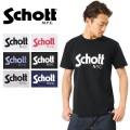 Schott ショット 3163037 ベーシックロゴ Tシャツ