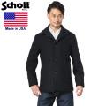 Schott ショット 758US 日本別注 24oz スリムフィット シングル ピーコート【7537】【キャンペーン対象外】