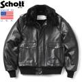 Schott ショット 173US レザー ボマージャケット 7580 MADE IN USA【キャンペーン対象外】