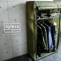 【別途送料880円】【即日出荷対応】SLOWER スロウワー SLW140 ROLL-UP WARDROBE 組み立て式 ワードローブ(キャンペーン対象外)