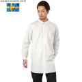 ☆セール☆【キャンペーン対象外】新品 スウェーデン軍 グランパシャツ ホワイト