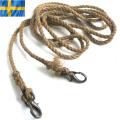実物 スウェーデン軍 カラビナ付 ロープ