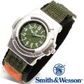 【キャンペーン対象外】 Smith & Wesson スミス&ウェッソン LAWMAN WATCH 腕時計 OLIVE DRAB SWW-11-OD